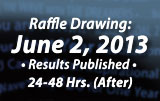 Drawing June 2nd Posted 24-48 hours afterwards